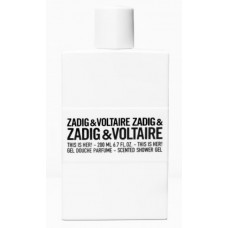 Zadig&Voltaire This is Her! Gel Douche Parfume 200 ml
