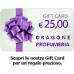 Carta Regalo da € 25,00
