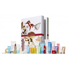 Clarins Calendario dell'Avvento 24 mesi Christmas Set