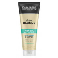 John Frieda Sheer Blonde Highlight Activating Moisturising Shampoo 250 ml