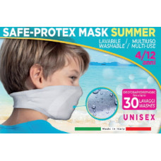 Norman Mascherina Safe-Protex Mask Summer Junior Verde