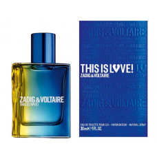 Zadig&Voltaire This is Love! Eau de Toilette Pour Lui 30 ml
